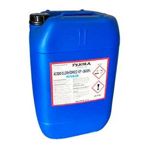 Ácido Clorhídrico FERBLA Aguas Potables