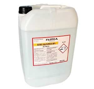 Ácido Sulfúrico FERBLA Aguas Potables