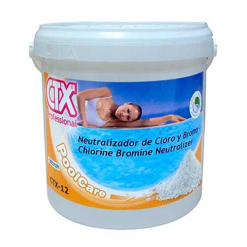 CTX-12 Neutralizador de cloro y bromo