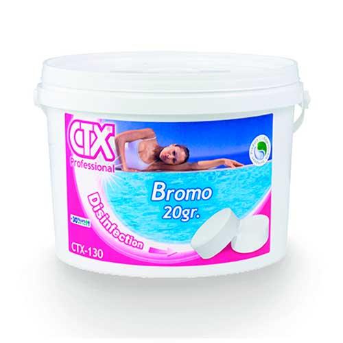 CTX-130 Tabletas bromo 20 gr