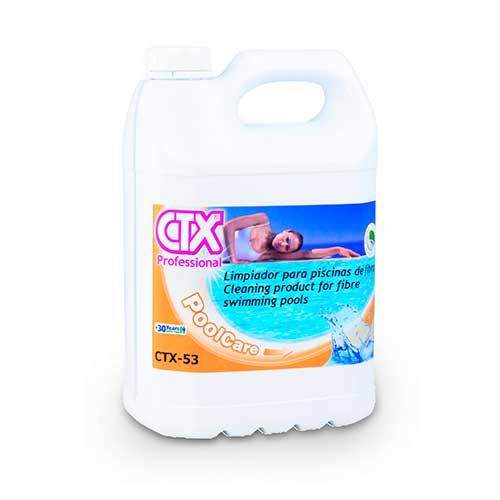 CTX-53 Limpiador desincrustante para piscinas fibra/poliéster