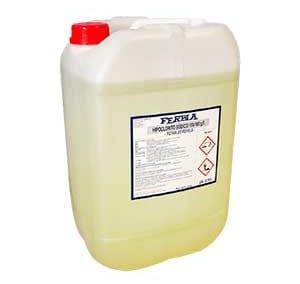 Hipoclorito Sódico FERBLA Aguas Potables